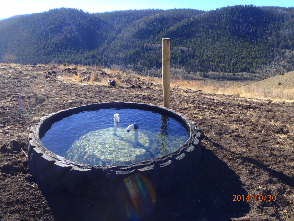 Livestock Water Project Benefits Sage Grouse Birdconservancy Org